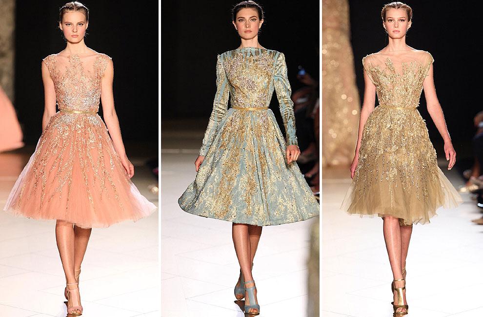 Encantador Vestidos De Boda Cortos Elie Saab Ideas Ornamento ...