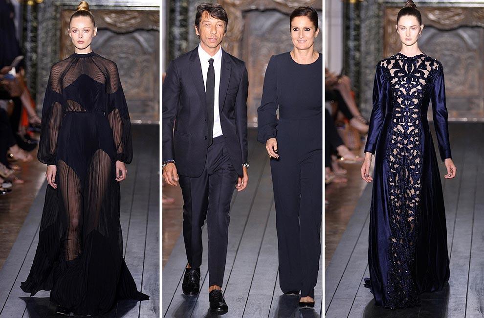 Valentino pone el 'broche de oro' a los desfiles de Alta Costura otoño-invierno 2012-2013