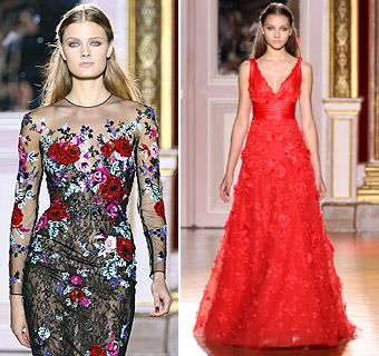 Romanticismo y sensualidad en las nuevas propuestas de Alta Costura de Zuhair Murad