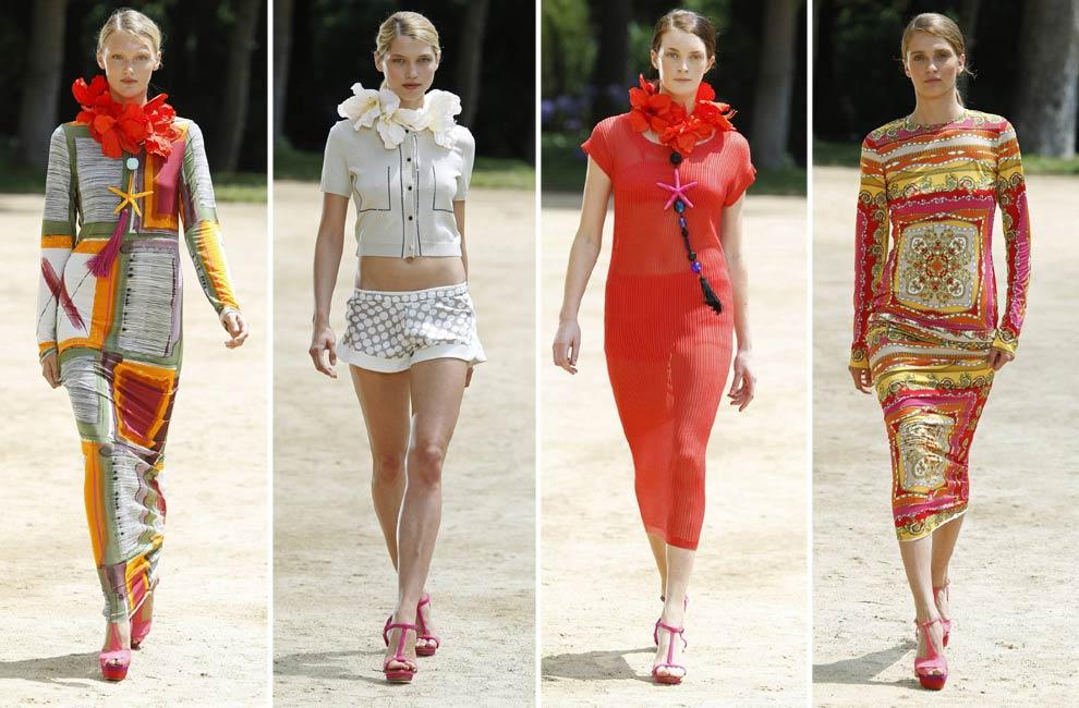 Naulover Colección de moda para mujer inspirada en los glamurosos cruceros por la Riviera francesa de los años 60. Prendas con mucho colorido y estampados