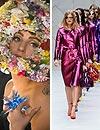Momentos estelares en la 'London Fashion Week': Lady Gaga desfila para Philip Treacy y explosión de color de Burberry Prorsum
