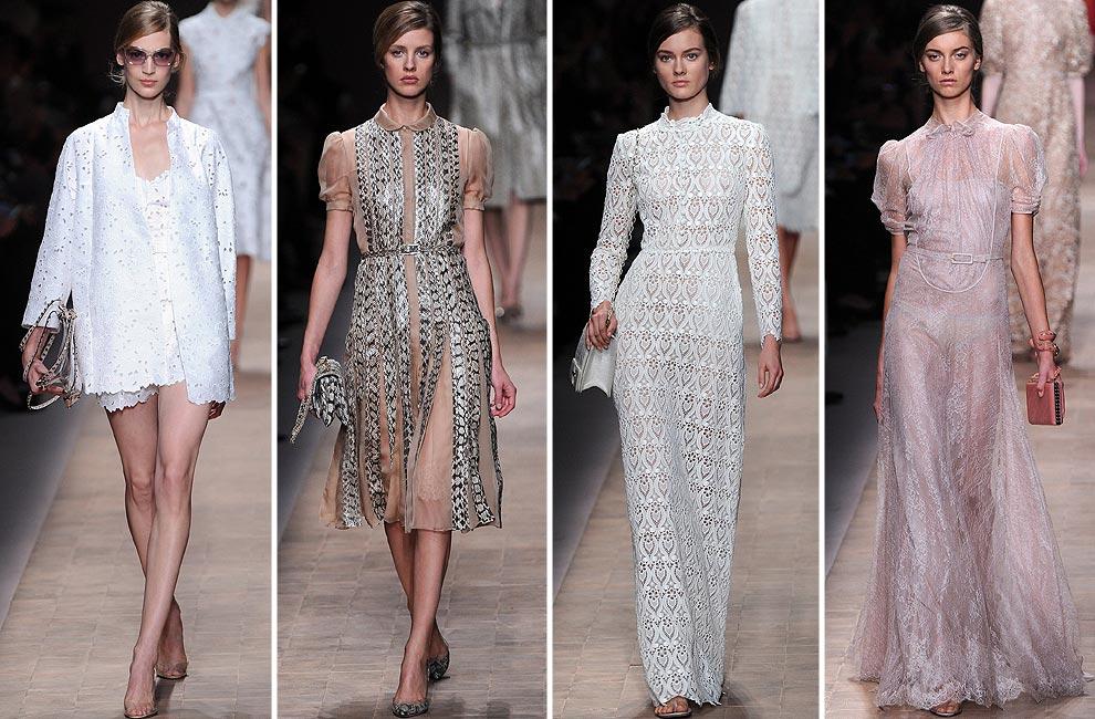 Valentino, Chanel, Saint Laurent, Amaya Arzuaga... París, a la última moda