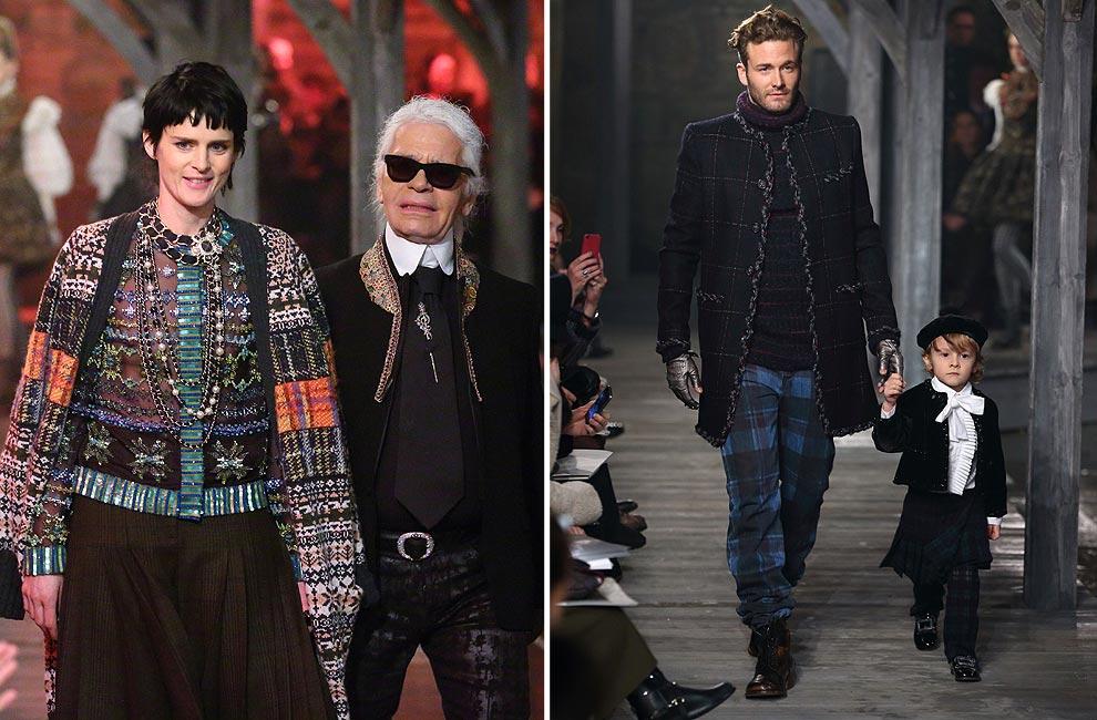 Karl Lagerfeld presenta en Escocia sus nuevas propuestas para Chanel: colección 'Métiers d'Art' 2012/2013