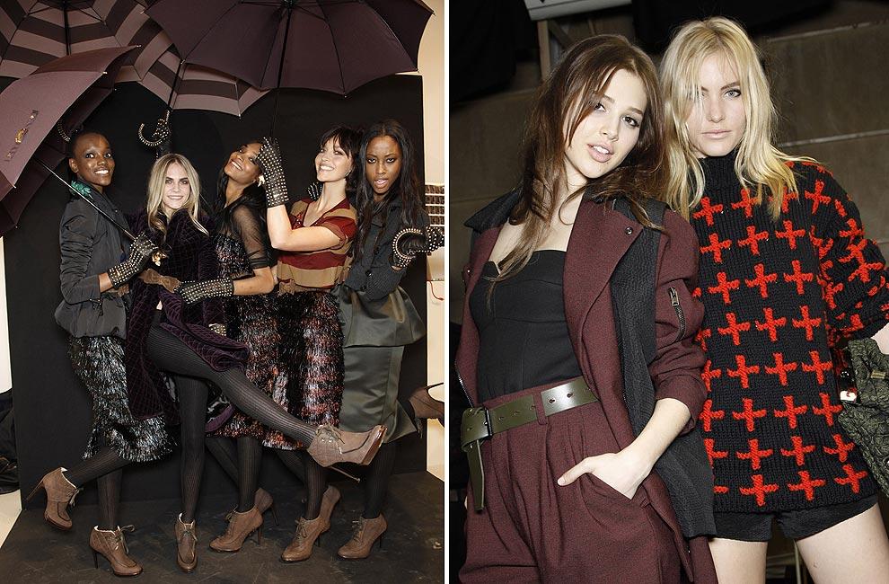En el 'backstage' de... la Semana de la Moda de Londres otoño-invierno 2012-2013