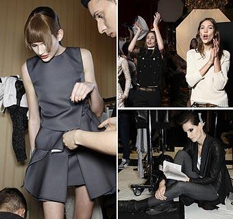 Te desvelamos los secretos del 'backstage' de un desfile de moda