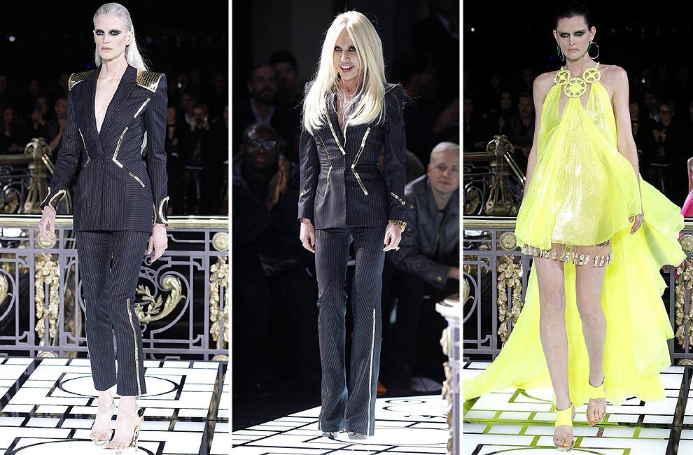 Atelier Versace inaugura la Alta Costura de París con las tendencias para la primavera-verano 2013
