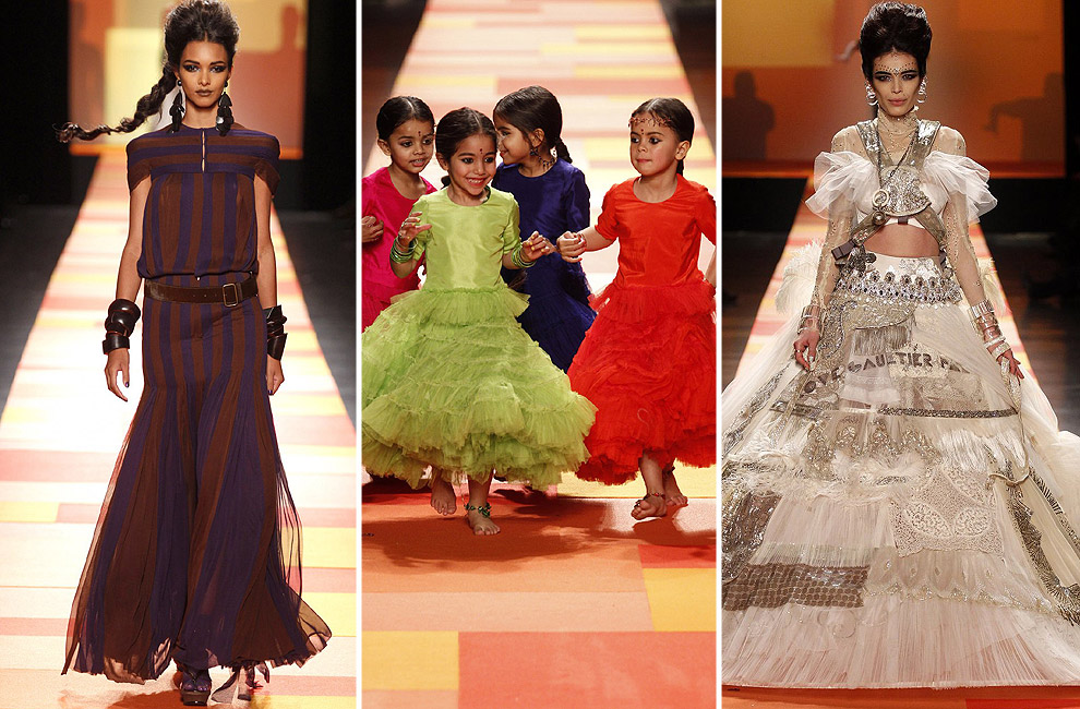 Jean Paul Gaultier Alta Costura primavera-verano 2013: India 'Haute Couture'