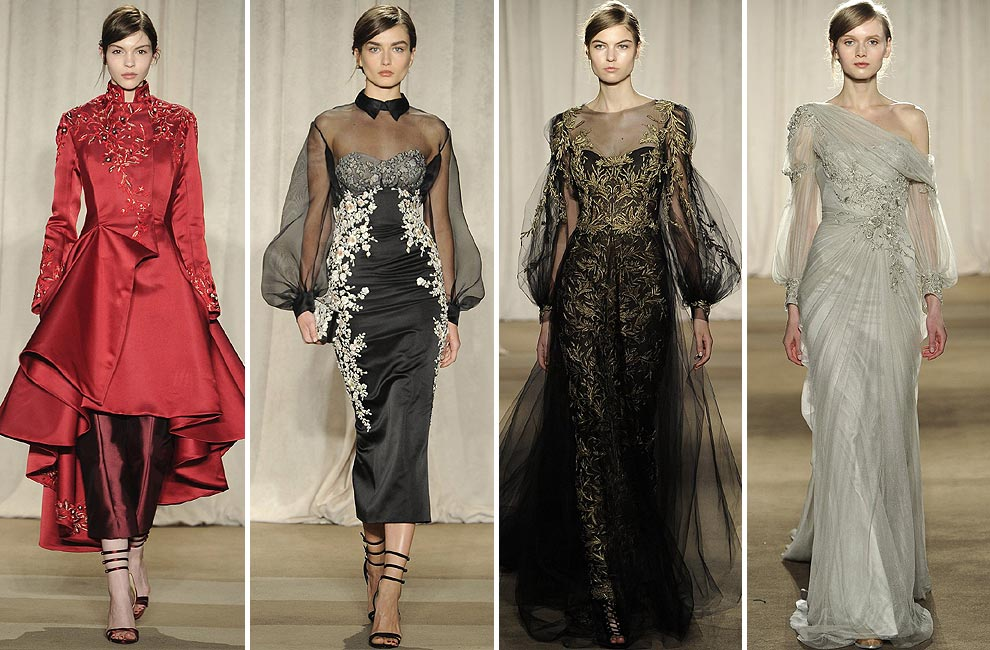 New York Fashion Week: Marchesa, Michael Kors, Philosophy di Alberta Ferretti…