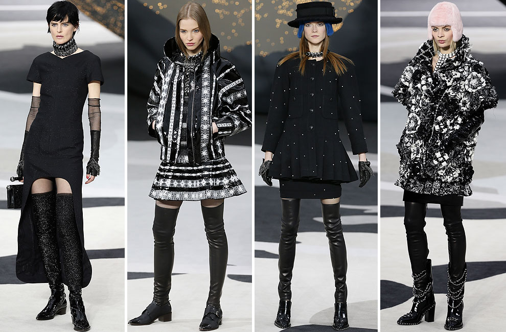 París 'Fashion Week': Chanel, Giambattista Valli, Amaya Arzuaga, Paco Rabanne… y Saint Laurent