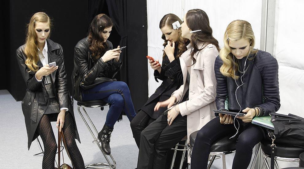 Modelos 2.0: Las nuevas tecnologías llegan al 'backstage'