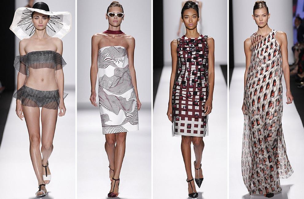 566baa52ea Carolina Herrera New York (primavera-verano 2014): Una vez más, el arte  vuelve a ser inspiración para la diseñadora Carolina Herrera.