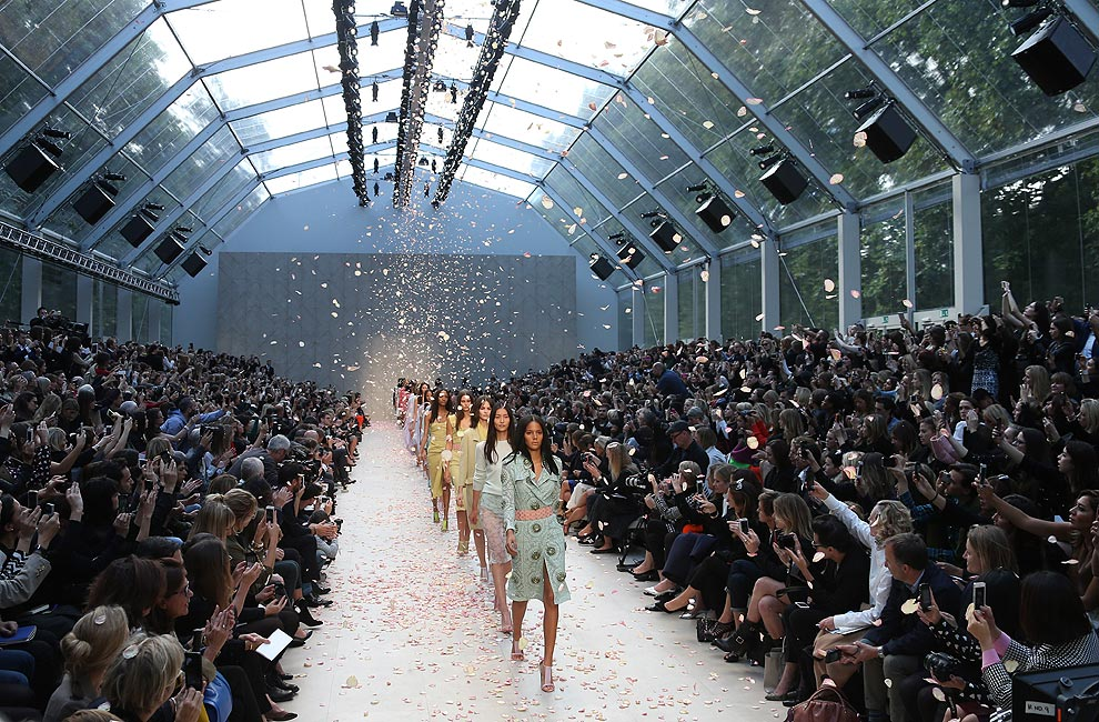 'London Fashion Week' primavera-verano 2014: La pasarela en formato 'XXL'