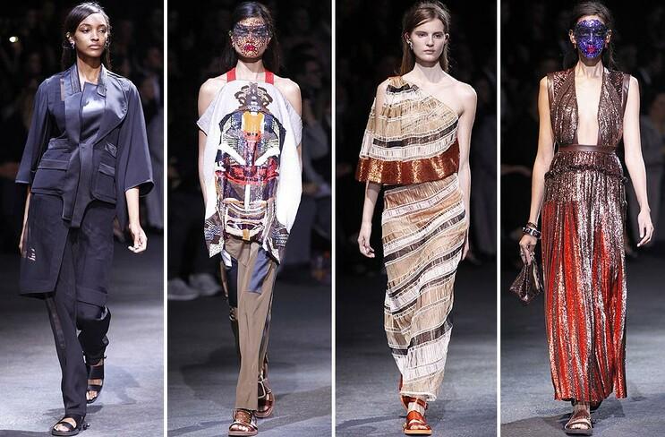 París 'Fashion Week': Givenchy, Jean Paul Gaultier, Chloé, Viktor ...