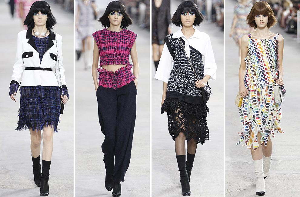 París 'Fashion Week': Valentino, Chanel, Saint Laurent, Amaya Arzuaga y Elie Saab