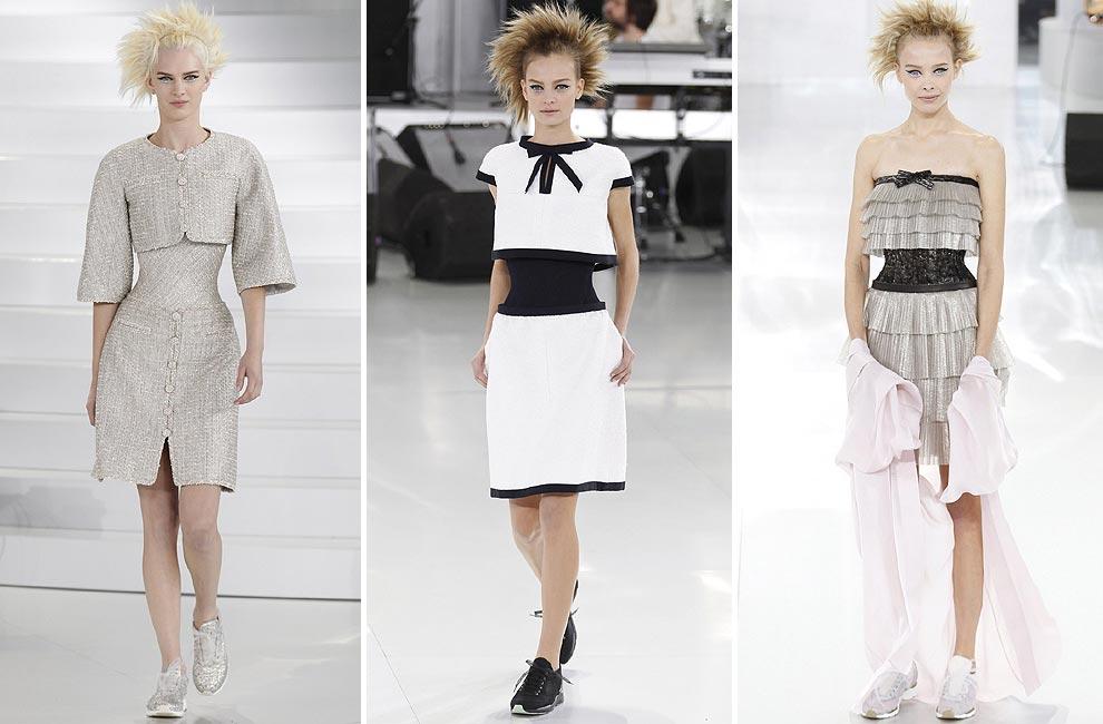 Chanel conquista la Alta Costura con una cuidada mezcla de estilos
