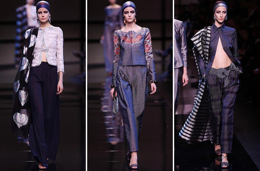 Giorgio Armani Privé, esencia 'vintage' en la Alta Costura