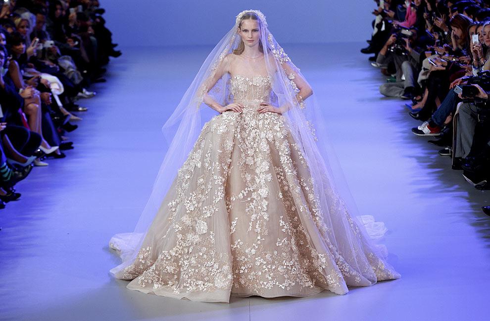 elie saab, el 'glamour' de la alta costura más brillante
