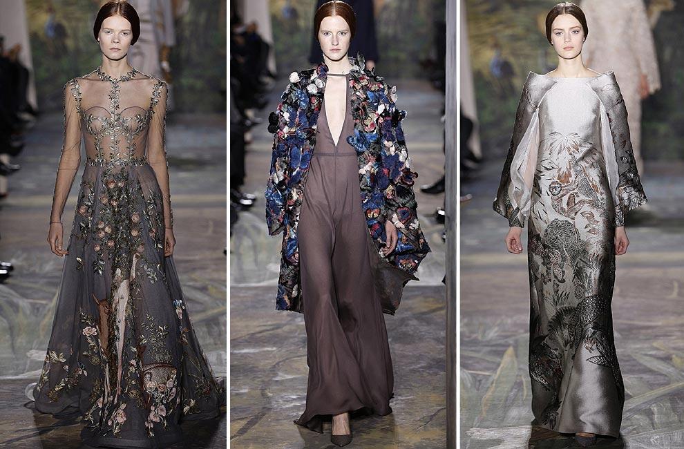 Valentino Alta Costura primavera-verano 2014 y su universo animal