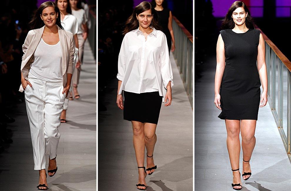 Alessandra Ambrosio, estrella de la pasarela 080 Barcelona Fashion otoño-invierno 2014-2015