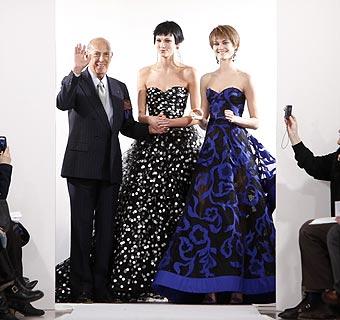 Oscar de la Renta conquista Nueva York con una colección rica en detalles
