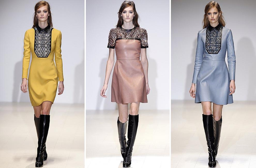 7fbd714cf Gucci llena de color y  animal print  la apertura de la Milán  Fashion Week