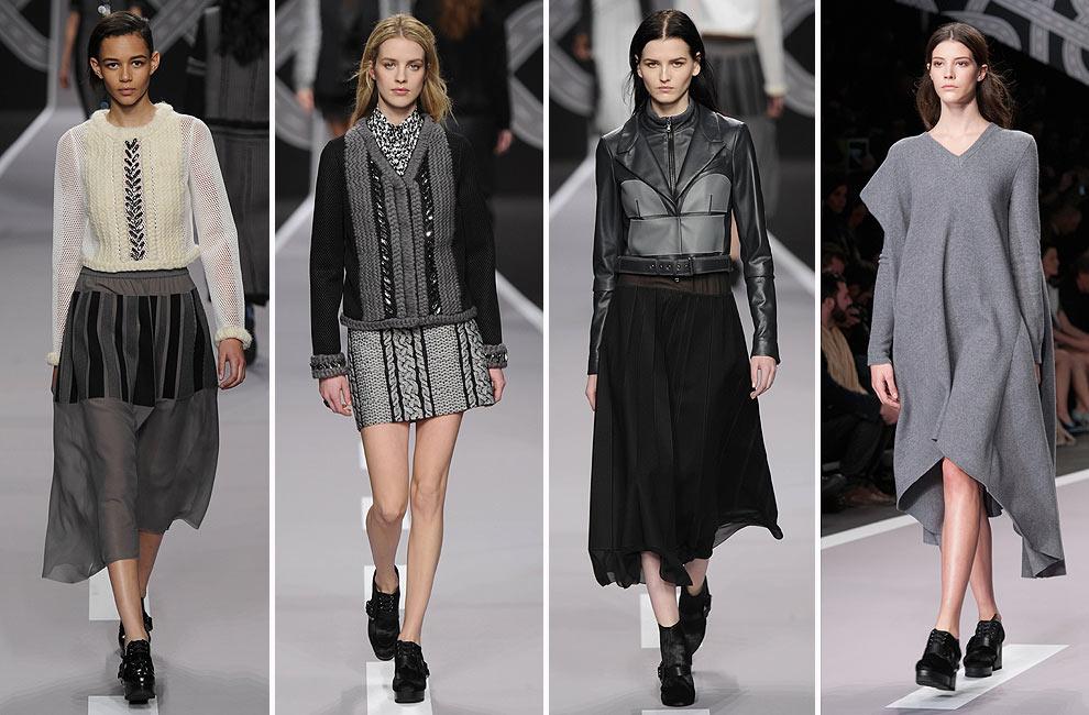 París 'Fashion Week':Viktor&Rolf, Jean Paul Gaultier, Chloé, John Galliano y Givenchy