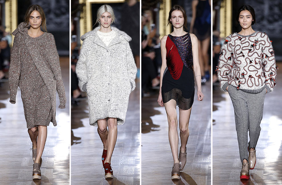 París 'Fashion Week': Stella McCartney, Giambattista Valli, Emanuel Ungaro y Elie Saab