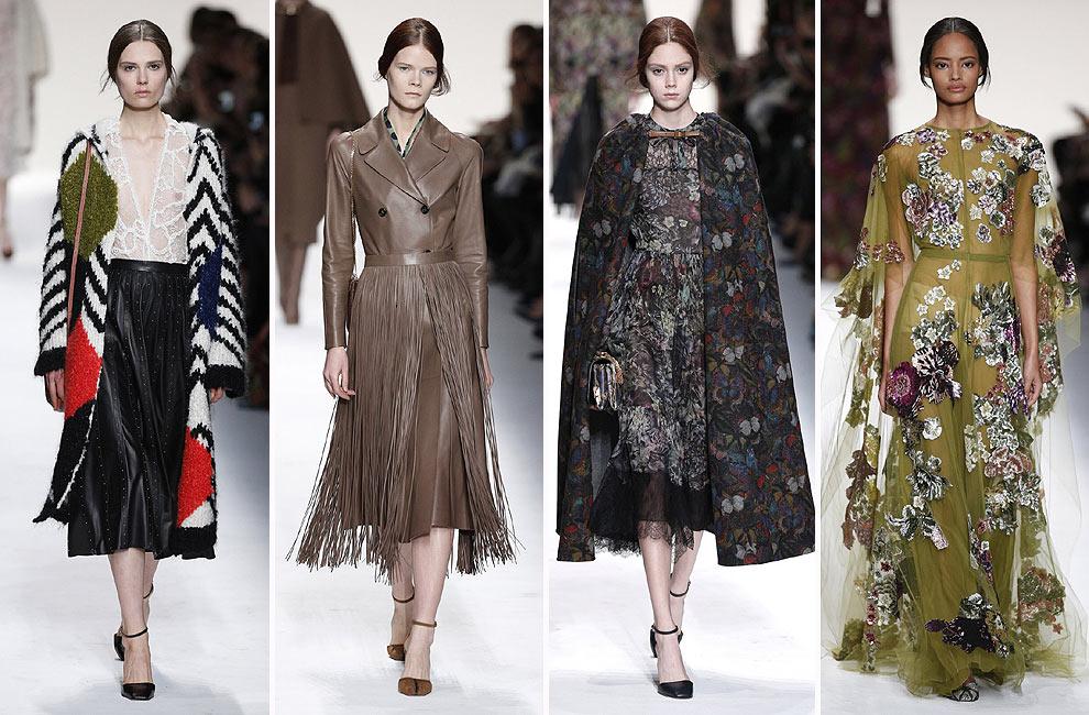 París 'Fashion Week': Amaya Arzuaga, Saint Laurent y Chanel