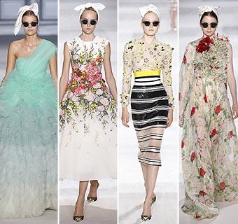 El 'front row' más exclusivo se rinde a las flores de Alta Costura  de Giambattista Valli