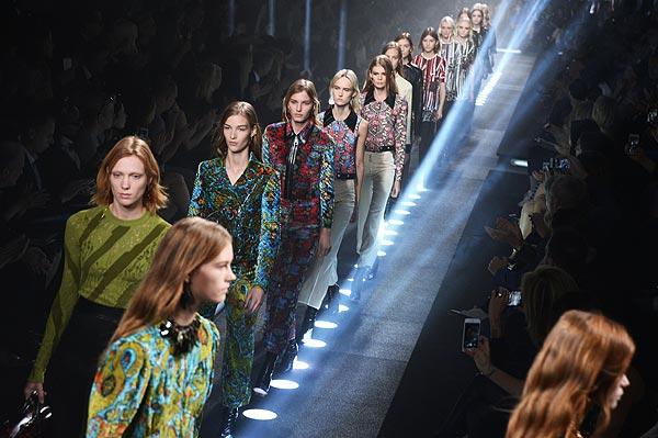 Estampados y 'hippie de luxe', de Nicolas Ghesquière para Louis Vuitton
