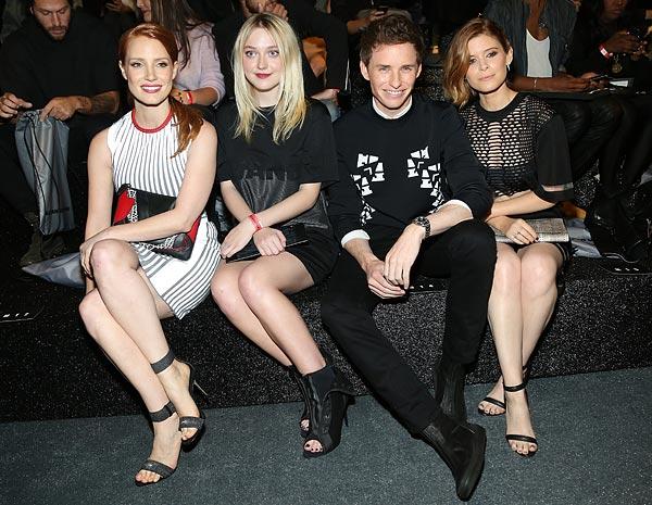 Jessica Chastain, Dakota Fanning, Kate Mara… ¡Todas quieren la 'colección más esperada' de la temporada!