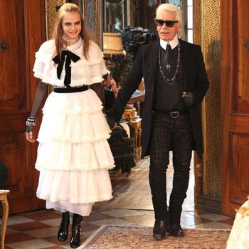 Cara Delevingne, la última musa de Chanel se convierte en Sissi Emperatriz