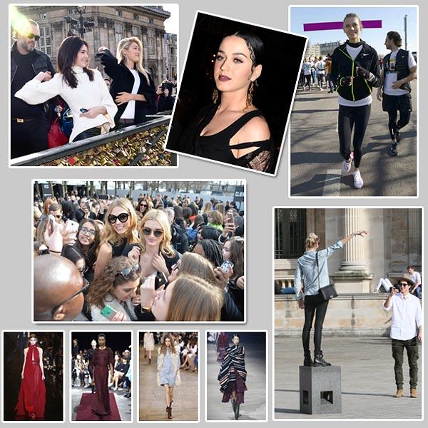 En imágenes: Fin de semana de moda -y ocio- en París