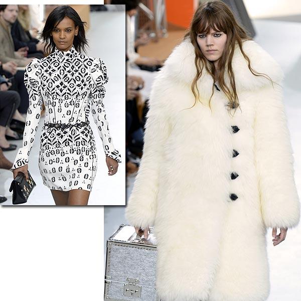 Nicolas Ghesquière para Louis Vuitton conquista París con una colección 'chic and shiny'