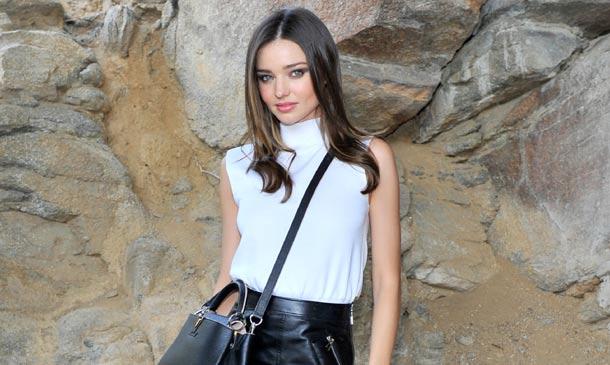 Las 'California girls' de Louis Vuitton apuestan por el cuero