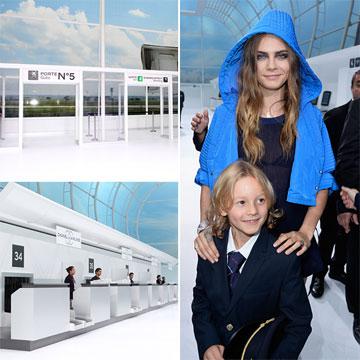 ¡Todos a la puerta de embarque!: El vuelo 'high class' de Chanel Airlines despega