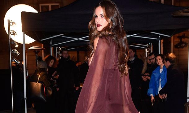 Izabel Goulart, de la pasarela al 'front row' de Valentino