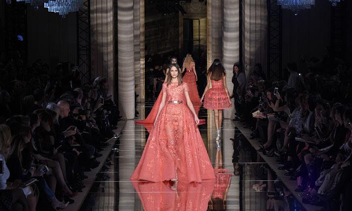 Zuhair Murad, una colección 'para enamorarse' como 'broche de oro' para los desfiles de Alta Costura de París