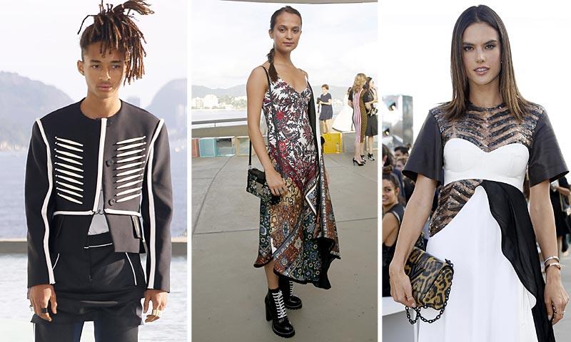 6f6fe0b1f Louis Vuitton se lleva a las 'celebs' de 'crucero' a Río de Janeiro