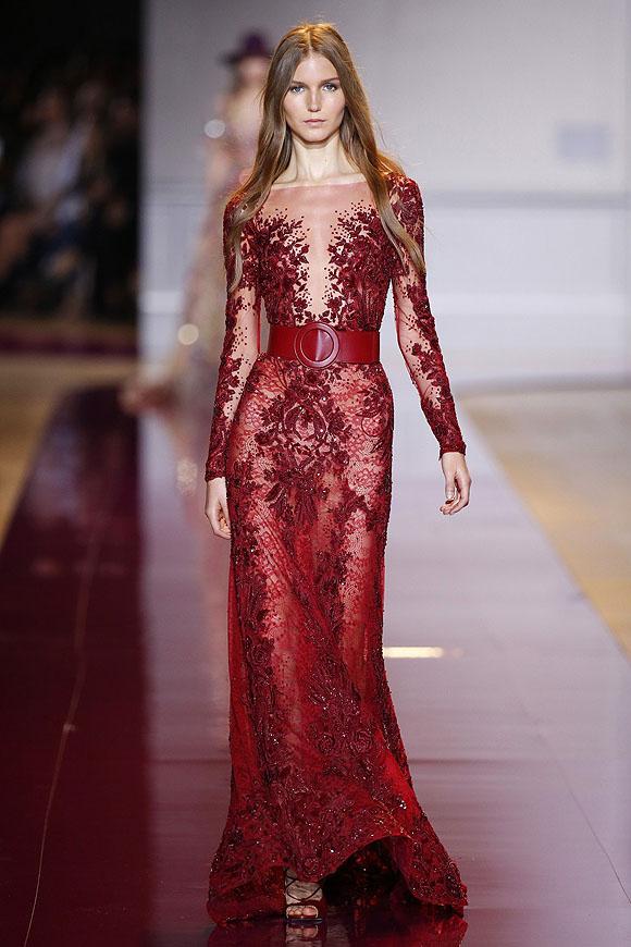 Zuhair murad y valentino impactante 39 broche de oro 39 de la for Moda de otono 2017