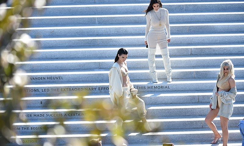 El espectáculo de los Kardashian-West