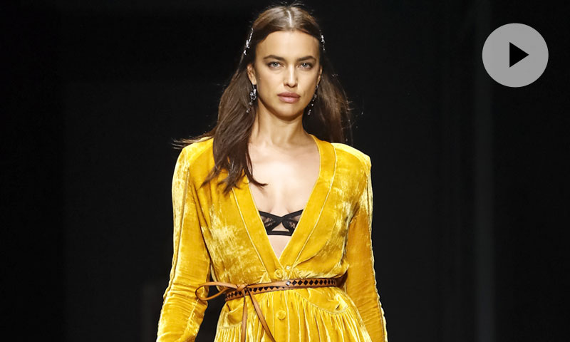 Irina Shayk y la lencería italiana conquistan la pasarela neoyorquina