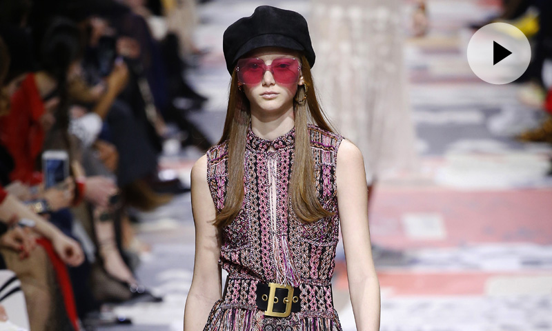 Así ha sido el desfile de Dior desde París