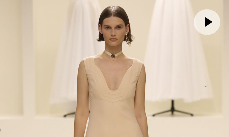 En vídeo, así ha sido el desfile de Dior Alta Costura otoño-invierno 2018-2019