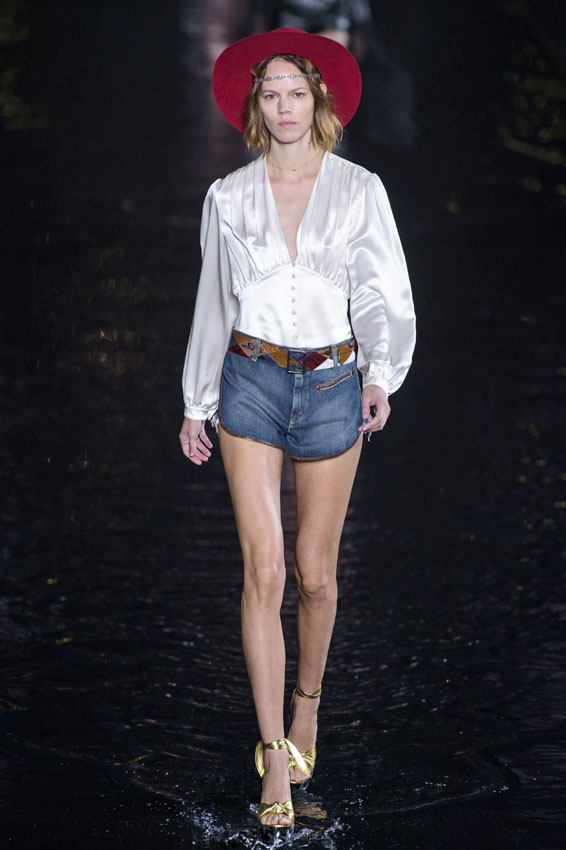 Saint Laurent primavera-verano 2019.