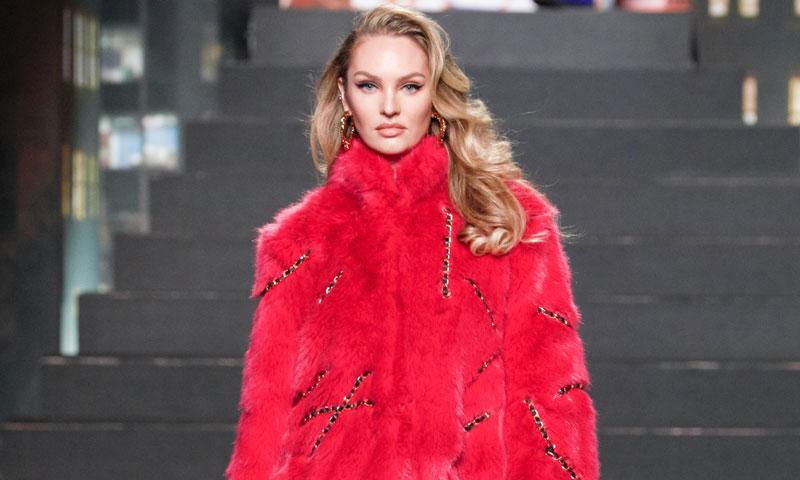 Moschino para H&M: El regreso de Candice Swanepoel y los detalles del desfile más esperado