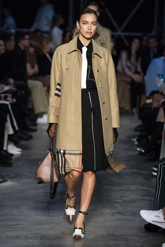 London Fashion Week: Burberry otoño-invierno 2019-2020