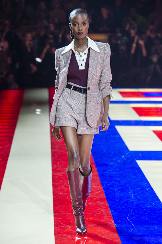 Paris Fashion Week: TommyxZendaya desfile primavera-verano 2019.