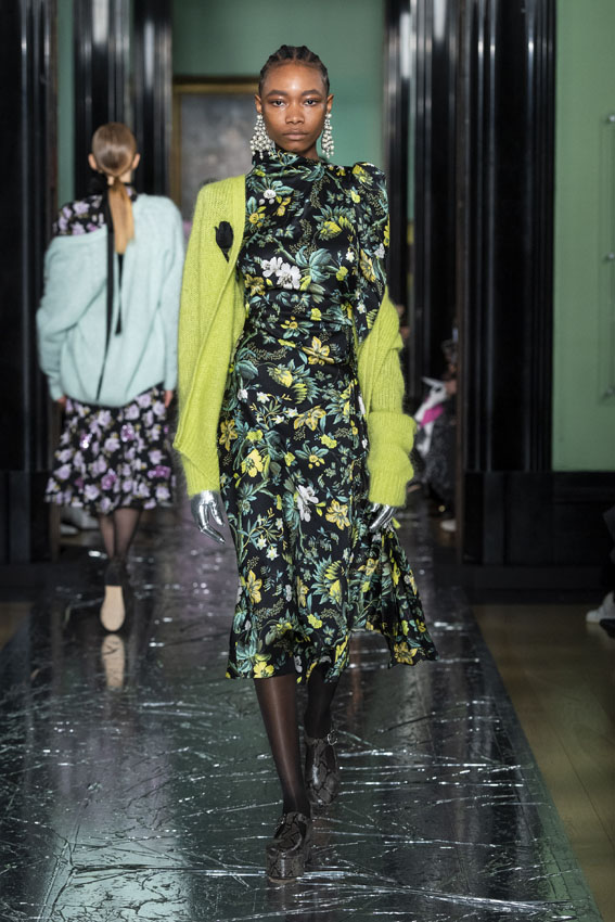London Fashion Week: Erdem Otoño/Invierno 2020-2021