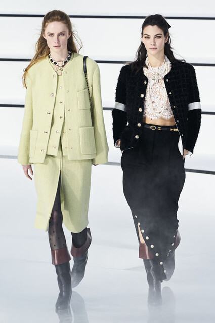 Paris Fashion Week Chanel Otono Invierno 2020 2021 Foto 1